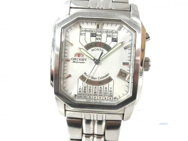 ORIENT(オリエント) 腕時計 EUAA-CO メンズ シルバー