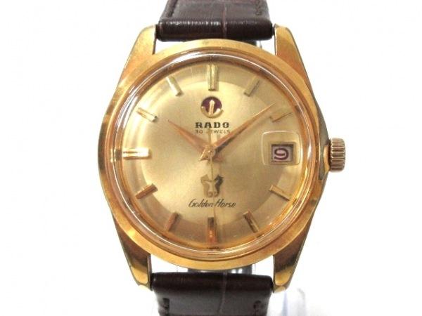 RADO(ラドー) 腕時計 Golden Horse - メンズ ゴールド