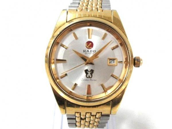 RADO(ラドー) 腕時計 Golden Horse - メンズ シルバー