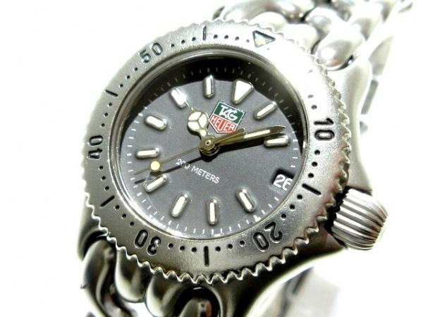 TAG Heuer(タグホイヤー) 腕時計美品  S99.208M レディース ダークグレー