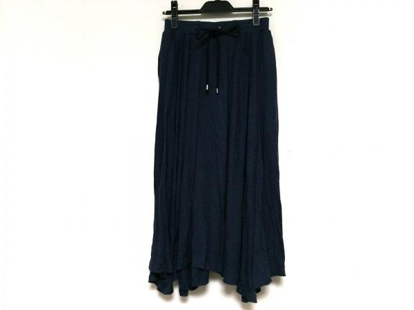 HYALINES(ハイアリン) スカート サイズ38 M レディース ネイビー
