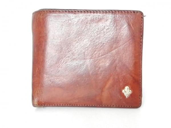 PATRICK COX(パトリックコックス) 2つ折り財布 ブラウン レザー