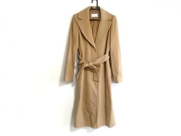 エムプルミエブラック コート サイズ36 S レディース新品同様  ブラウン 冬物