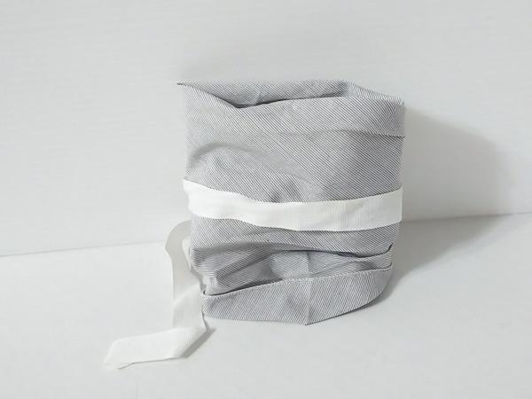 MARTIN MARGIELA(マルタンマルジェラ) ベルト ライトグレー×白 コットン