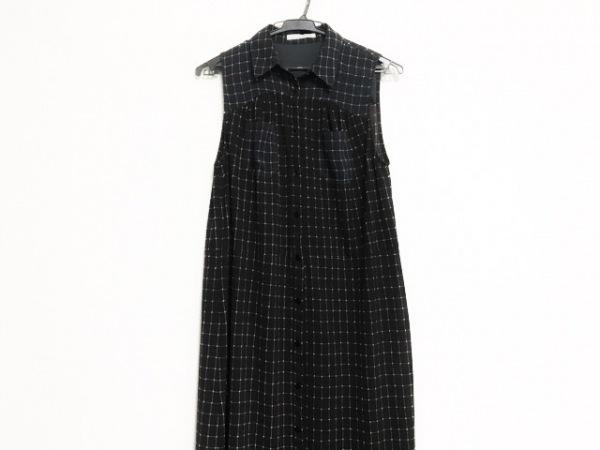 DouDou(ドゥドゥ) ワンピース サイズ38 M レディース美品  黒×白