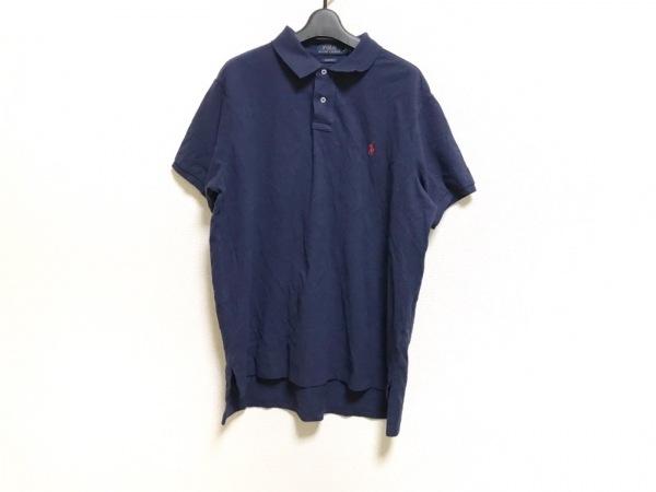 ポロラルフローレン 半袖ポロシャツ サイズXL メンズ美品  ネイビー