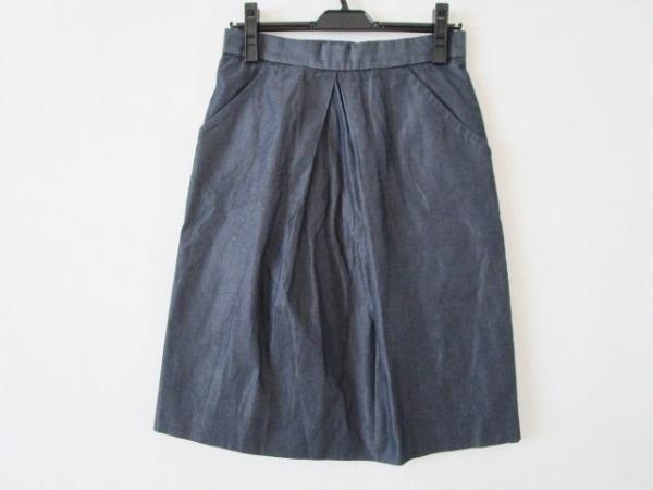 Drawer(ドゥロワー) スカート サイズ36 S レディース ダークネイビー
