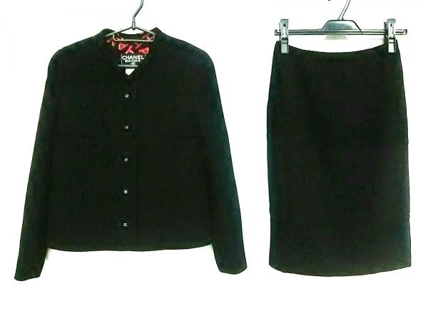 CHANEL(シャネル) スカートスーツ サイズ40 M レディース 黒