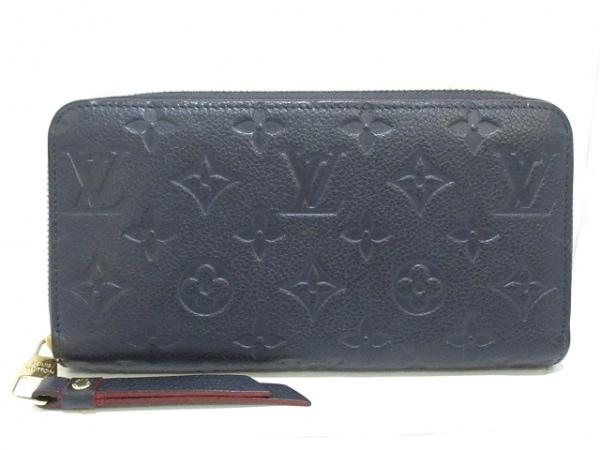 ルイヴィトン 長財布 モノグラム・アンプラント美品  ジッピー・ウォレット M60545