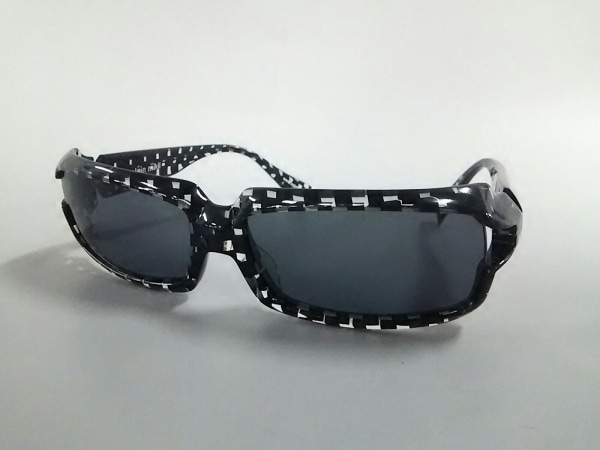 アランミクリ サングラス美品  A0488 09 ダークグレー×黒×クリア プラスチック