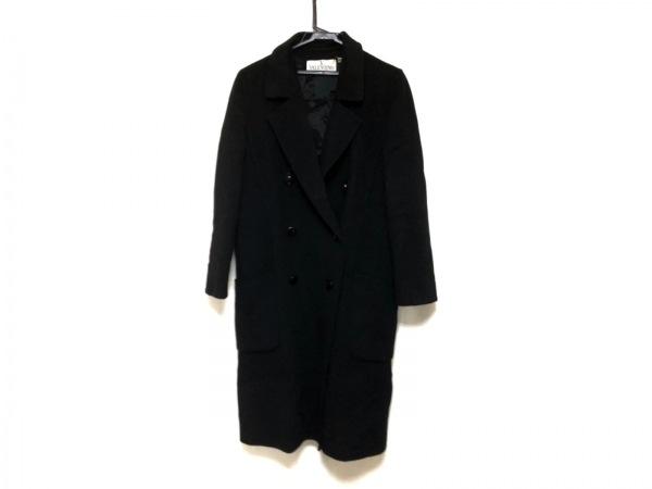 VALENTINO(バレンチノ) コート サイズ6 M レディース美品  黒 冬物