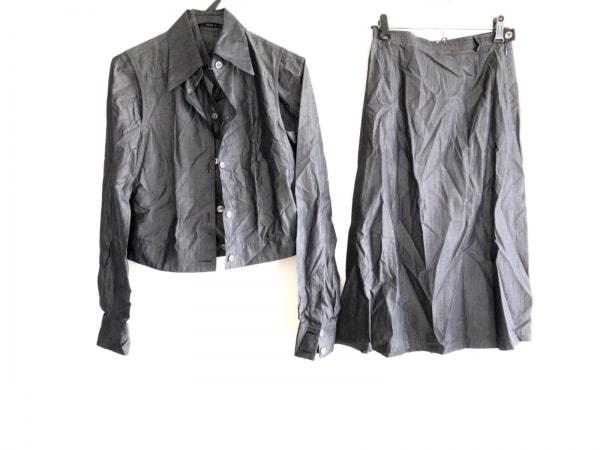 ソフィードール スカートスーツ サイズ36 S レディース グレー 3点セット