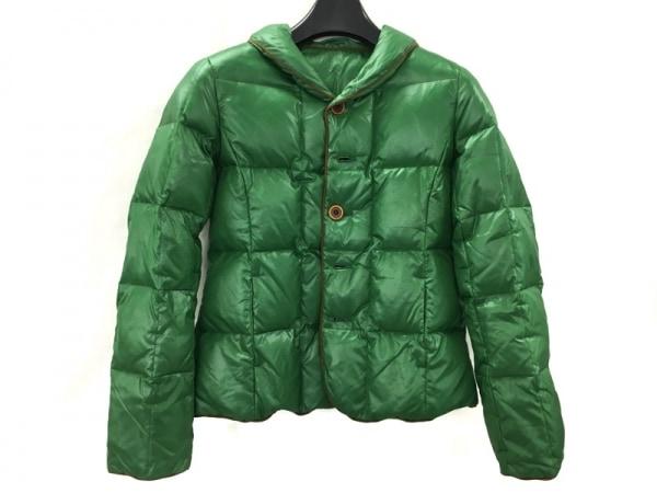 パラスパレス ダウンジャケット サイズ3 L メンズ美品  グリーン×ブラウン
