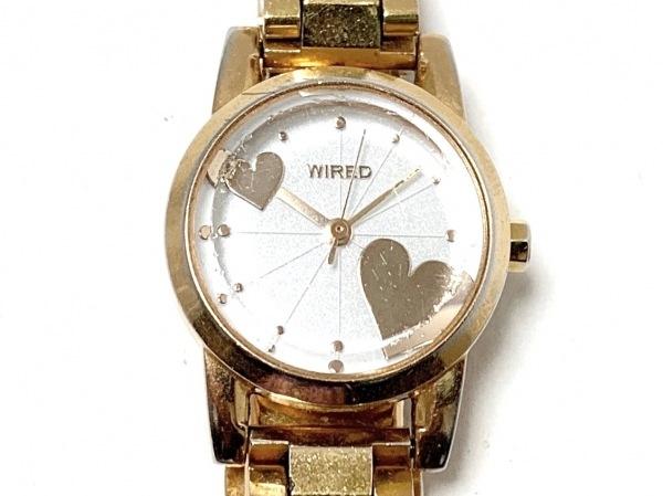 WIRED(ワイアード) 腕時計 1N01-0KK0 レディース 白