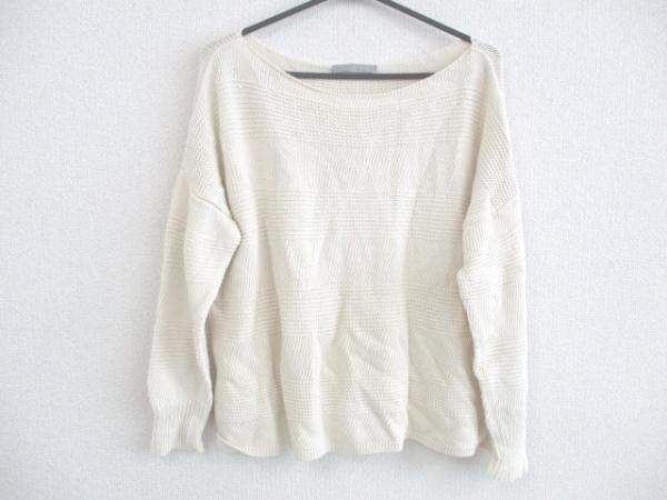 theory luxe(セオリーリュクス) 長袖セーター サイズ038 M レディース アイボリー