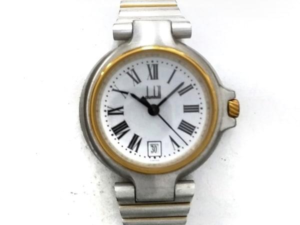 dunhill/ALFREDDUNHILL(ダンヒル) 腕時計美品  ミレニアム 12 32995 レディース 白
