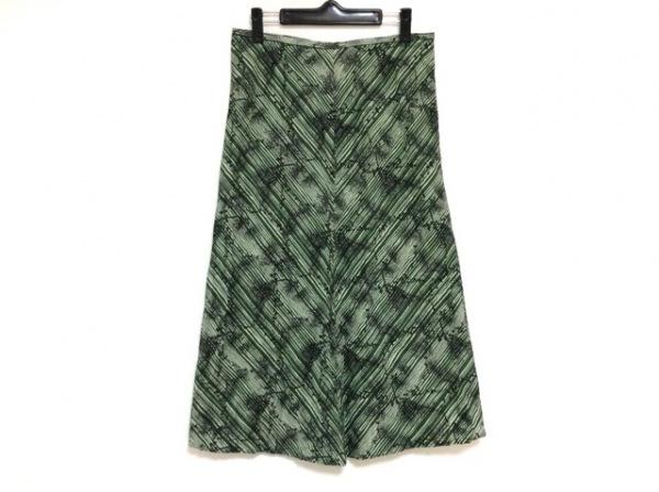 イザベルマラン ロングスカート サイズ2 M レディース美品  グリーン×黒