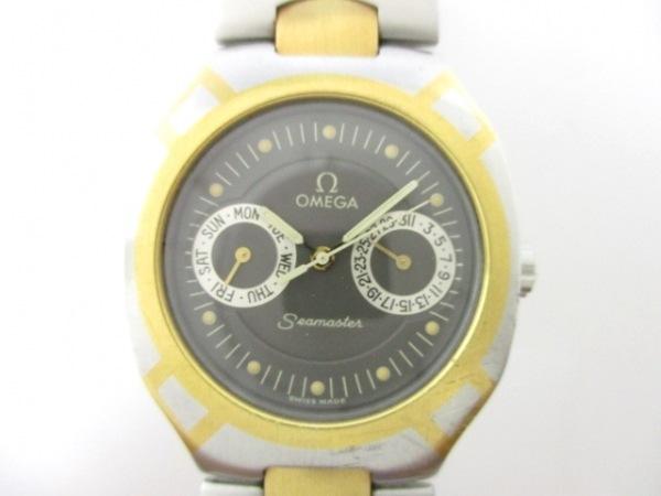 OMEGA(オメガ) 腕時計 シーマスターポラリス - ボーイズ ダークグレー