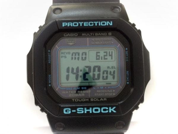 CASIO(カシオ) 腕時計美品  G-SHOCK GW-M5610BA メンズ ラバーベルト グレー