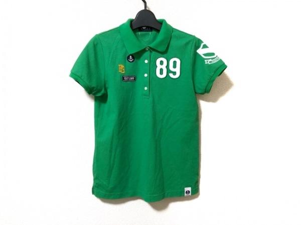 PEARLY GATES(パーリーゲイツ) 半袖ポロシャツ サイズ0 XS レディース美品  グリーン