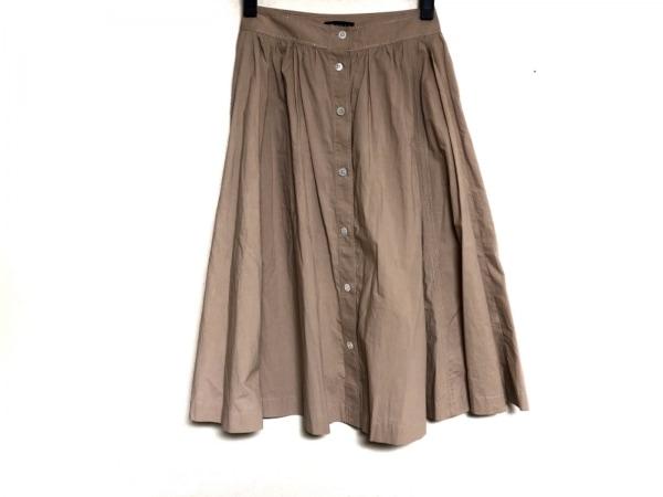 theory(セオリー) スカート サイズ0 XS レディース ベージュ