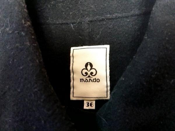mando(マンド) コート サイズ36 S レディース 黒 冬物