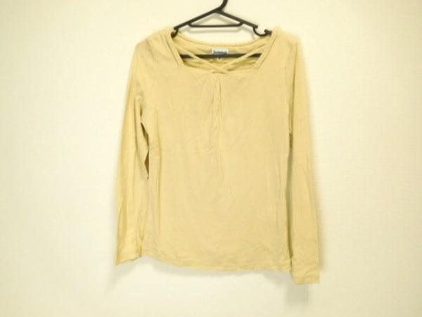 JOCOMOMOLA(ホコモモラ) 長袖Tシャツ サイズ40 XL レディース美品  ベージュ