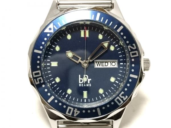 bpr BEAMS(ビームス) 腕時計 - メンズ ネイビー