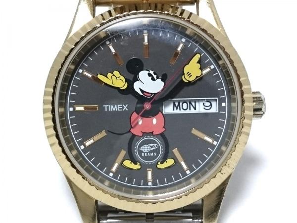 TIMEX(タイメックス) 腕時計 MIK4-E-U8 メンズ BEAMS/Disney ダークグレー