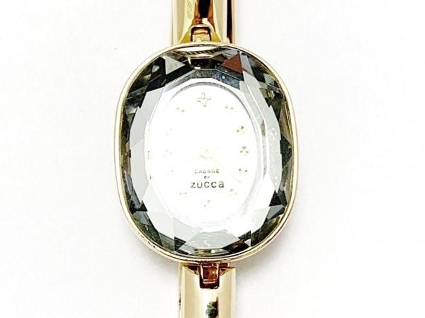 ズッカ 腕時計美品  1N01-K400 レディース CABANE de ZUCCA/シェル文字盤 シルバー