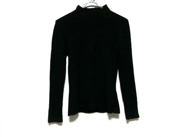 ジョルジオアルマーニクラシコ 長袖セーター サイズ44 L メンズ 黒