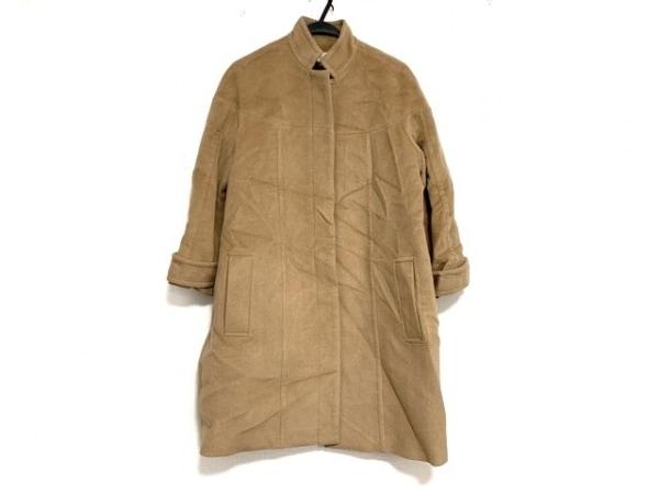 WAKO(ワコー) コート サイズ38 M レディース美品  ライトブラウン 冬物