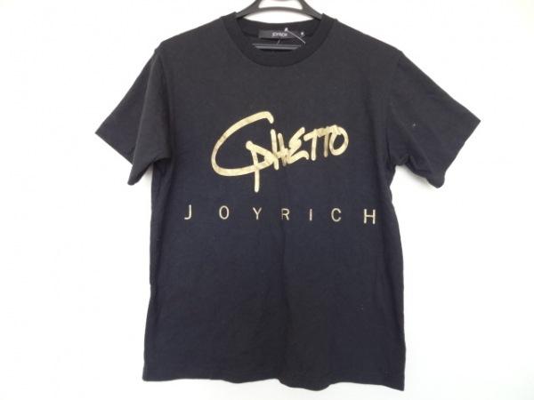 JOYRICH(ジョイリッチ) 半袖Tシャツ サイズM メンズ 黒×ゴールド