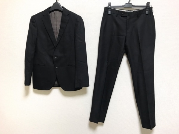 PERSON'S(パーソンズ) シングルスーツ サイズA3 メンズ 黒 肩パッド