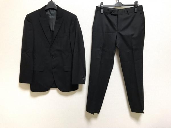PERSON'S(パーソンズ) シングルスーツ サイズA4 メンズ 黒 肩パッド