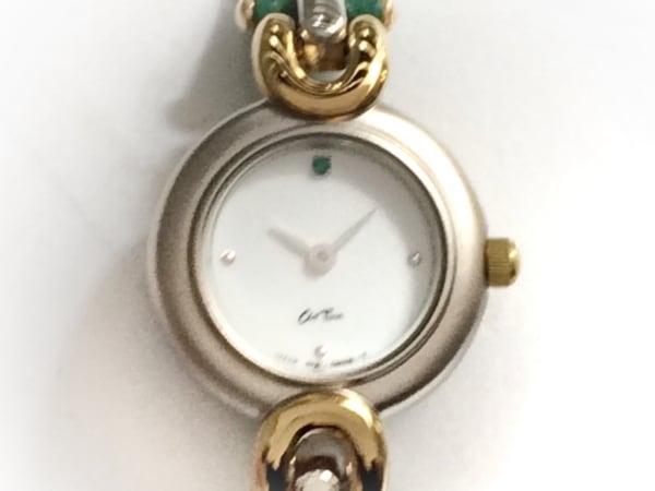 as Time(アズタイム) 腕時計美品  - レディース 革ベルト/by npbuko ishikawa 白