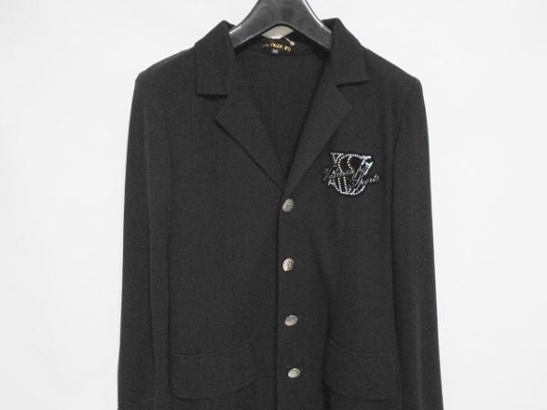 VALENZA PO(バレンザポー) ジャケット サイズ36 S レディース美品  黒