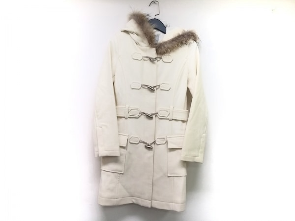 BEATRICE(ベアトリス) コート サイズ38 M レディース 白 冬物