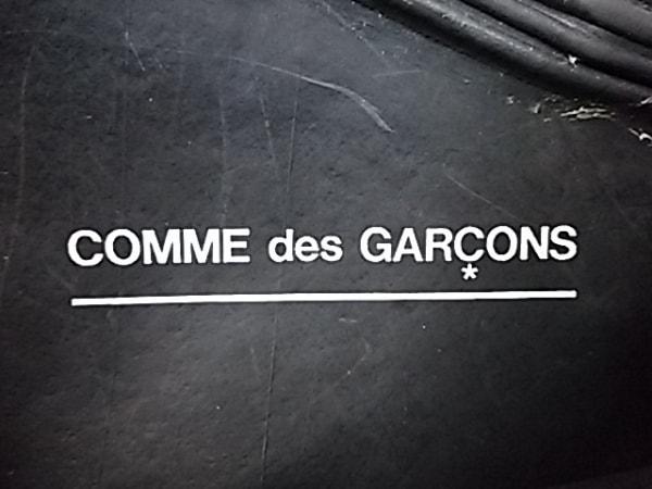 COMMEdesGARCONS(コムデギャルソン) トートバッグ 黒 フラワー ラバー