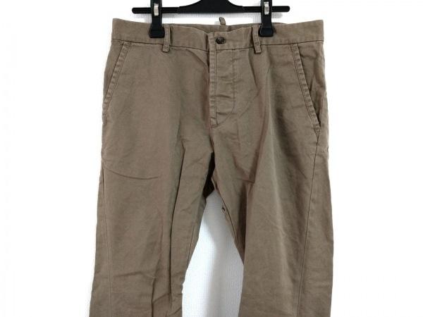 DSQUARED2(ディースクエアード) パンツ サイズ46 S メンズ カーキ