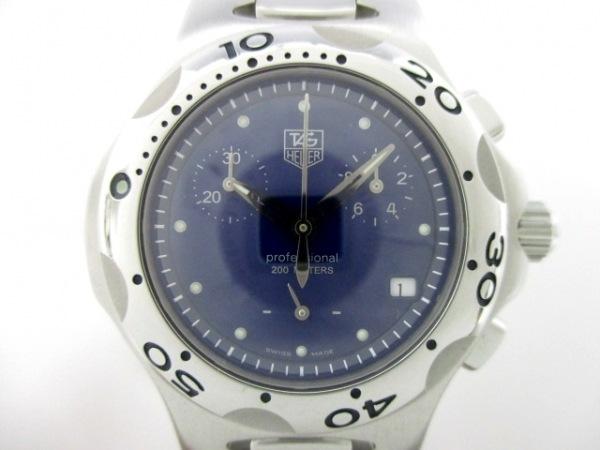 TAG Heuer(タグホイヤー) 腕時計 キリウム クロノグラフ CL1211 レディース ブルー