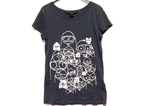 マークバイマークジェイコブス 半袖Tシャツ サイズXS レディース ダークグレー