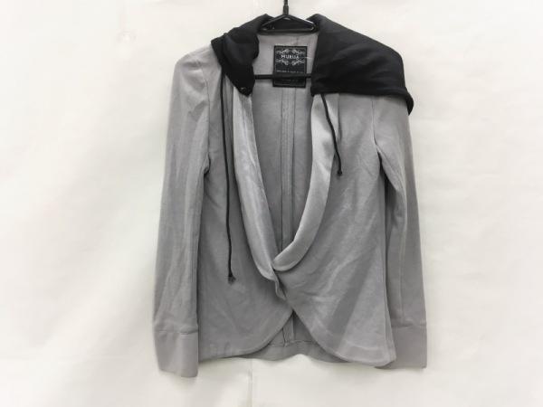 MURUA(ムルーア) ジャケット サイズ00 XS レディース グレー×黒