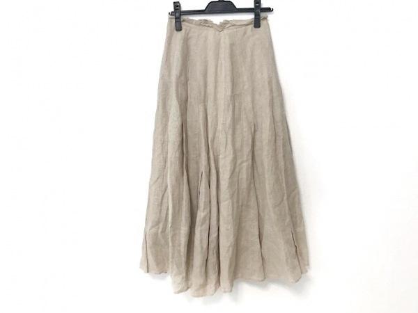 SENSO-UNICO(センソユニコ) ロングスカート サイズ38 M レディース美品  ベージュ