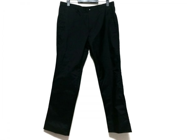 miumiu(ミュウミュウ) パンツ サイズ52 L メンズ美品  黒