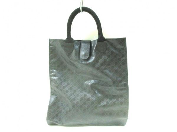 GHERARDINI(ゲラルディーニ) トートバッグ 黒 PVC(塩化ビニール)