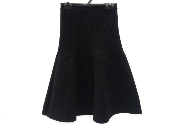 イヴサンローランリヴゴーシュ スカート サイズXXS XS レディース美品  黒