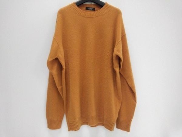 ErmenegildoZegna(ゼニア) 長袖セーター サイズ58 メンズ ブラウン カシミヤ