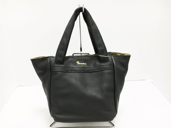 Beaure(ビュレ) トートバッグ美品  黒 レザー