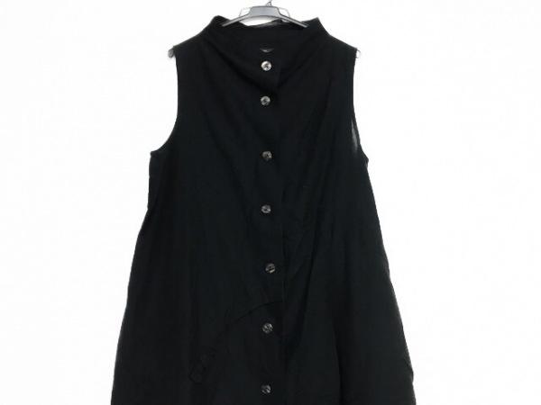 慈雨(ジウ/センソユニコ) ワンピース サイズ40 M レディース美品  黒 シャツワンピ